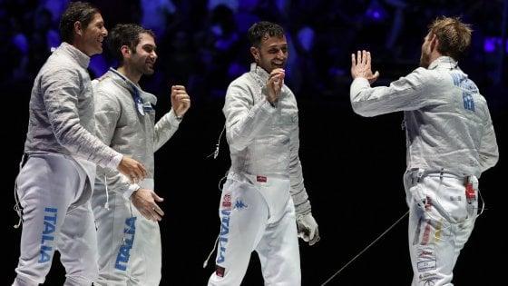 Scherma, Mondiali: Italia di bronzo nella spada femminile e nella sciabola maschile