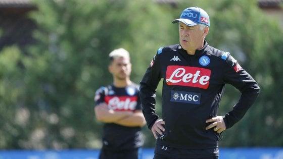 Napoli, Ancelotti: ''Il secondo posto non basta più, vogliamo vincere''