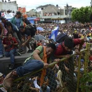 """Messico, il Paese è trasformato in """"luogo sicuro"""" assieme al Guatemale, per fermare il flusso migratorio"""