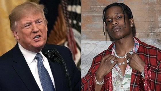 """Svezia, media svedesi rassicurano gli Usa: """"Il rapper Asap Rocky sarà presto scarcerato"""""""