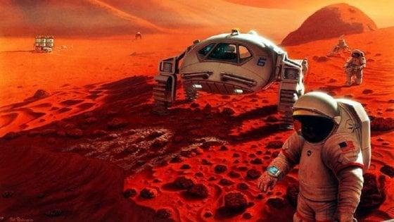 Nel vino rosso il segreto per affrontare Marte