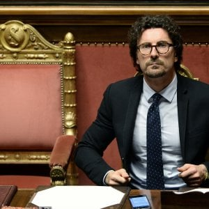 Il ministro delle Infrastrutture Danilo Toninelli