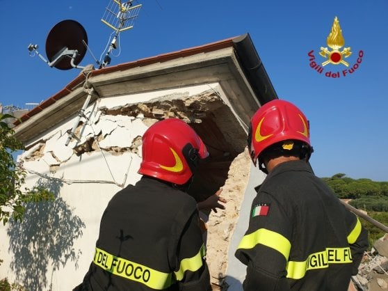 Esplode palazzina all'Isola d'Elba: due morti