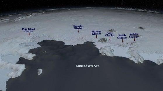 """Antartide: i ghiacciai si stanno disintegrando. """"Cannoni sparaneve contro lo scioglimento"""""""
