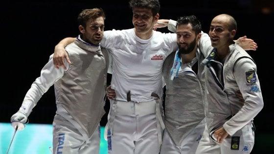 Scherma, Mondiali: l'Italia chiude con un bronzo nel fioretto maschile. Quarte le azzurre nella sciabola