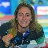 Super Quadarella, medaglia d'oro nei 1500 stile libero