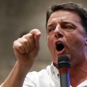 Pd, Renzi non parlerà al Senato su Moscopoli. E nel partito scoppia la polemica