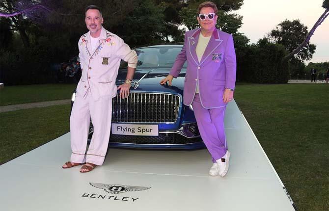 Bentley Flying Spur, 700 mila euro in beneficenza