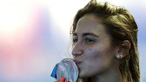 Nuoto, Mondiali: splendida Quadarella, è argento negli 800