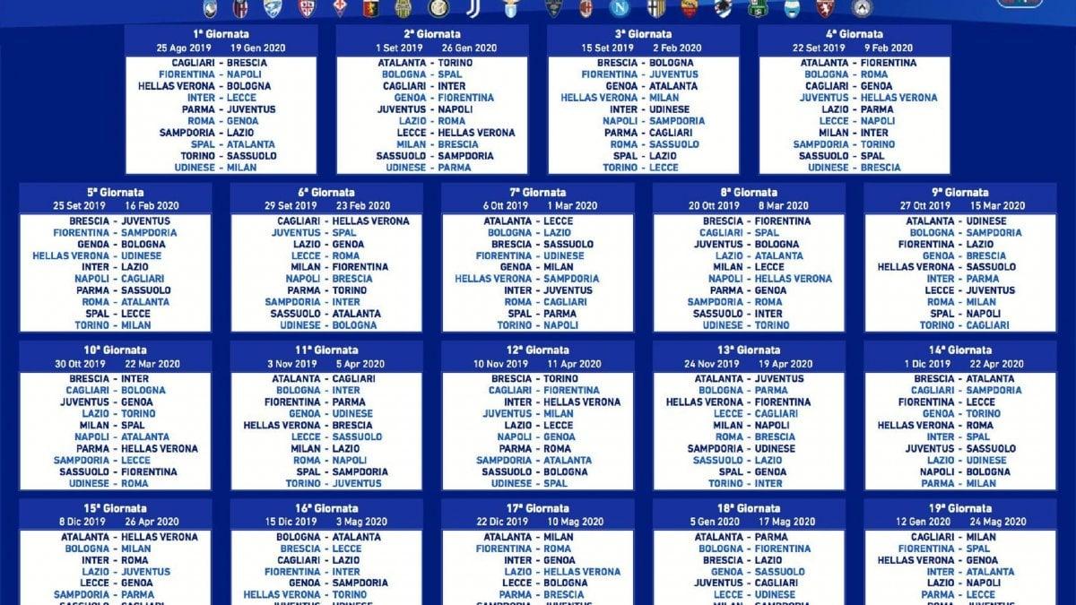 Calendario Aste Torino.Serie A Calendario Nedved Si Parte Forte Ancelotti