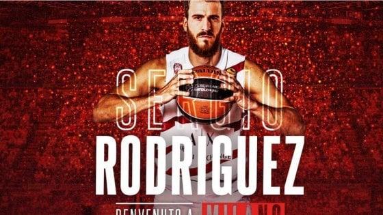 Basket, Milano chiude il mercato con il colpo Rodriguez