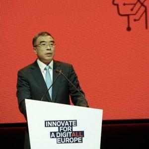 Il presidente di Huawei, Liang Hua