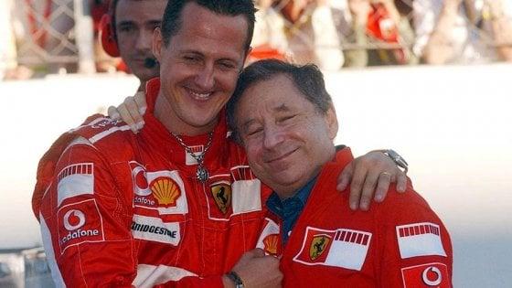 """Formula 1, Jean Todt: """"Ho visto il Gp con Schumacher, sta continuando a lottare"""""""