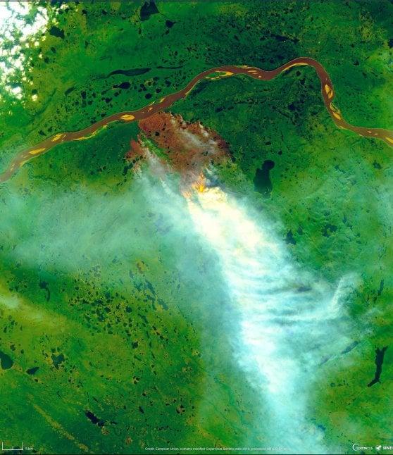 Siberia in fiamme: roghi mai così distruttivi per suolo e clima