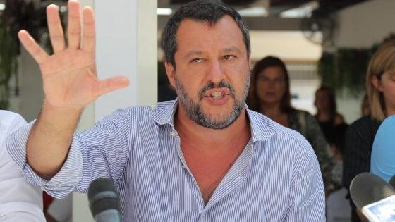 La libertà di stampa secondo Matteo Salvini