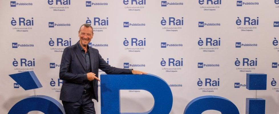 """Amadeus, direttore artistico e conduttore di Sanremo 2020: """"Il sogno di una vita"""""""