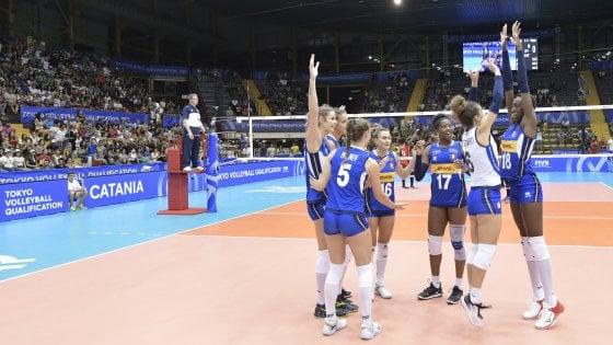 Volley femminile, buona la prima per l'Italia: Kenya battuto 3-0
