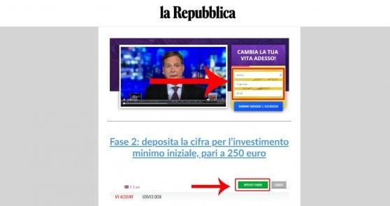 Repubblica non suggerisce su Facebook scorciatoie per la ricchezza. Come difendere denaro e dati dalla truffa