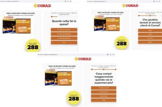 La truffa dei buoni Conad, Alitalia e Carrefour che gira su Facebook e WhatsApp. Ecco come difendersi
