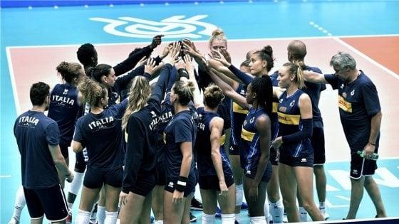 Calendario Volley Maschile 2020.Volley Tokyo 2020 Le Azzurre Superano Il Belgio Contro L