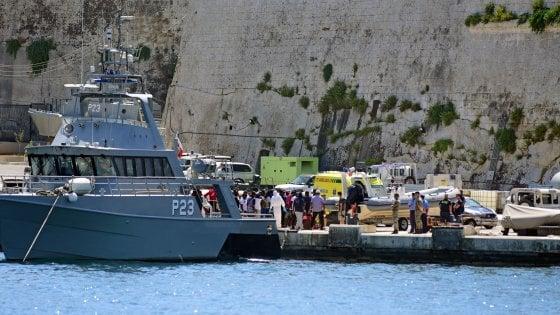 Migranti, sbarcati a Malta i 40 a bordo della Alan Kurdi