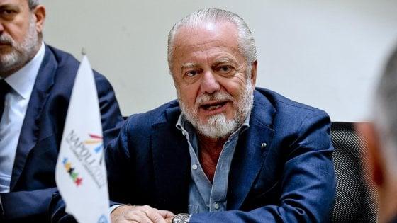 """Napoli, De Laurentiis: ''Pepé? Ne troveremo altri"""""""