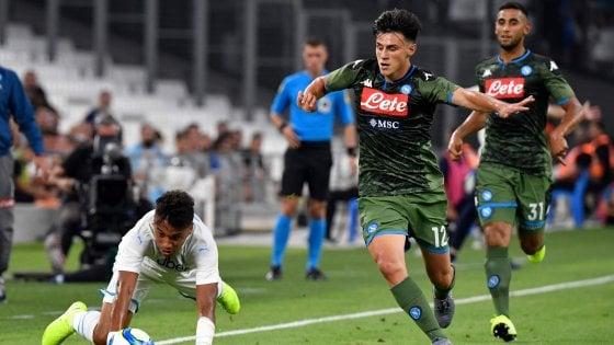 Il Napoli cresce e vince ancora, Mertens stende il Marsiglia