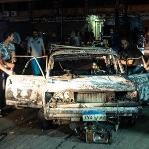 """Il Cairo, auto contromano si schianta contro altre vetture ed esplode: almeno 19 morti. Sisi: """"E' terrorismo"""""""