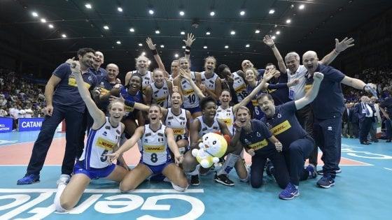 Volley, le azzurre battono l'Olanda e si qualificano per le Olimpiadi di Tokyo