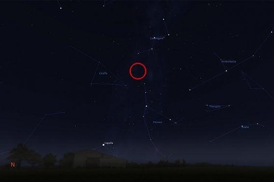 Prima delle stelle cadenti, la Luna 'a braccetto' con Giove e Saturno