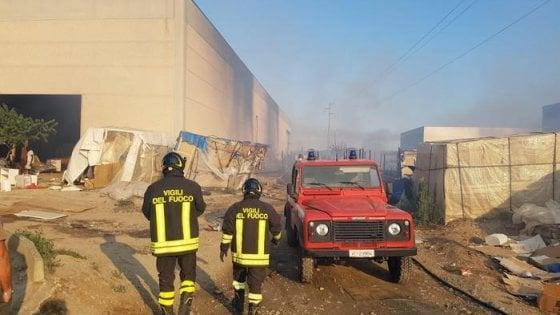 Matera, incendio in un capannone: muore migrante nigeriana