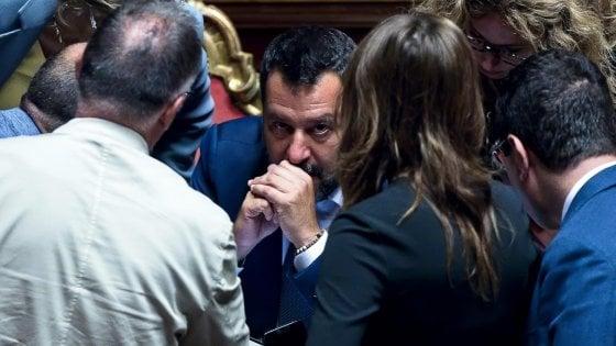 Tav, Salvini a Palazzo Chigi con Conte e Di Maio: chiede la testa di tre ministri. No del Senato alla mozione M5S