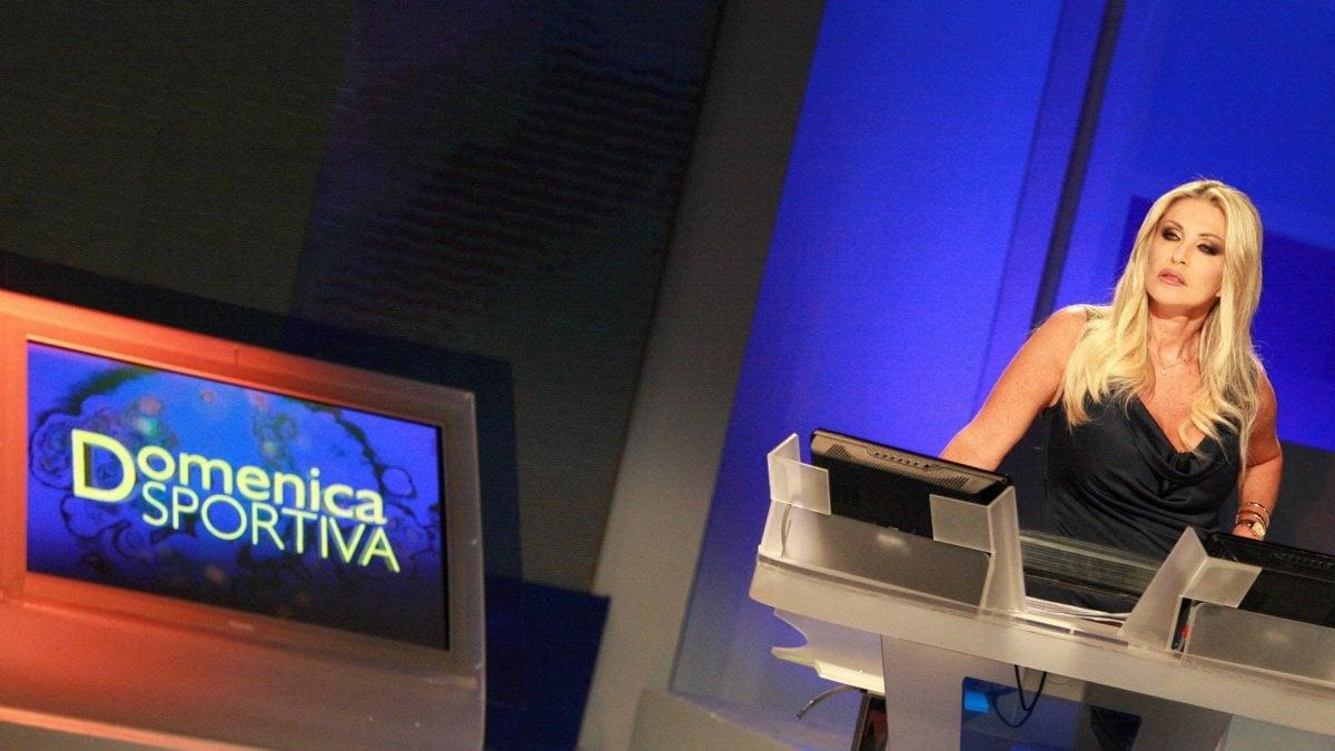 Rai: Paola Ferrari torna alla Domenica Sportiva