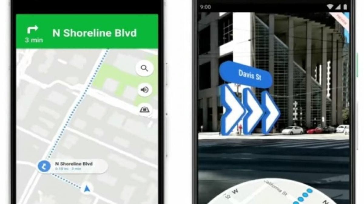 Google Maps in realtà aumentata: ora anche per Android e iOs