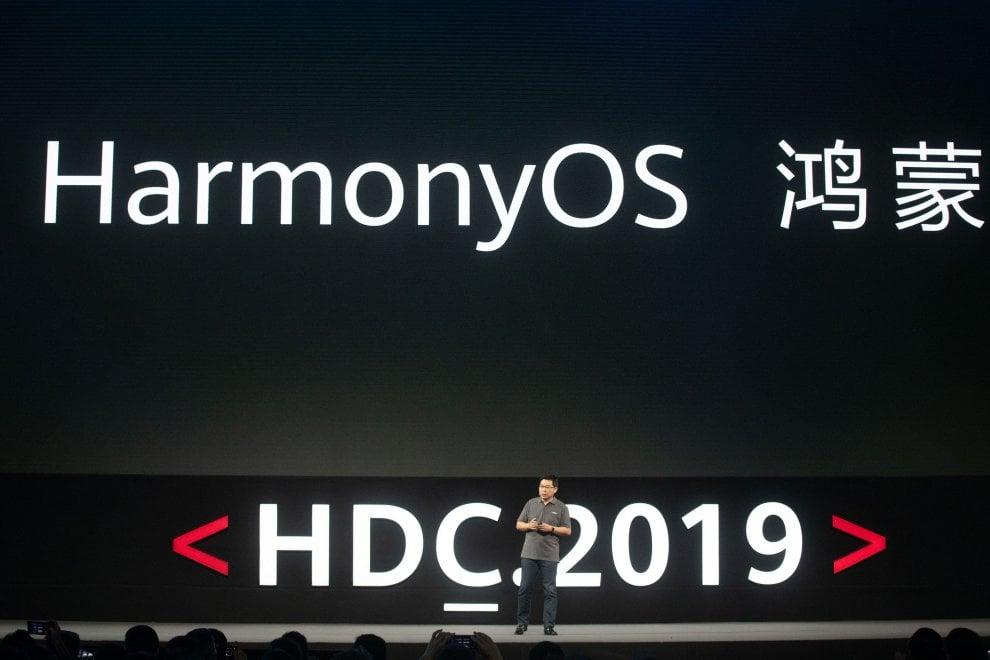 Huawei lancia il suo sistema operativo: Harmony OS