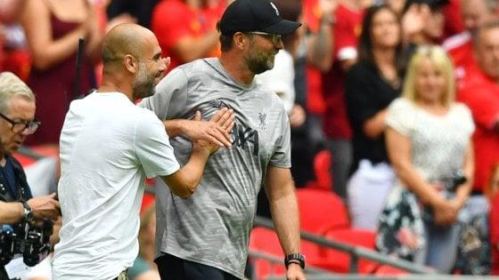 Premier League, si parte: testa a testa Manchester City-Liverpool, ma non solo