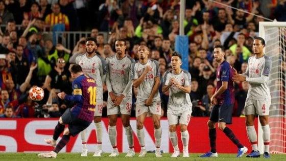 Messi batte Ronaldo, per l'Uefa è suo il gol più bello della stagione