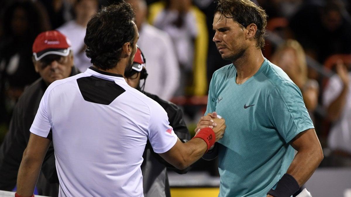 Tennis, Fognini spaventa Nadal a Montreal. A Cincinnati torna in ...
