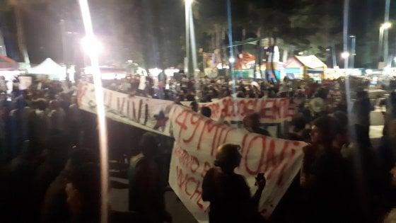 """Soverato, l'attivista che ha """"silenziato"""" Salvini: """"Ho agito d'istinto all'ennesima bugia"""""""