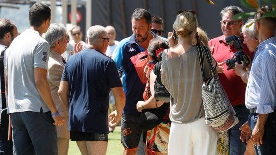 """Crisi di governo, Salvini: """"Totale fiducia e rispetto per Mattarella"""""""