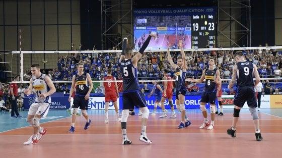 Mondiali Volley Maschile 2020 Calendario.Volley Maschile L Italia Batte La Serbia 3 0 E Si Qualifica
