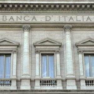 Bankitalia, rallenta la crescita dei prestiti a giugno