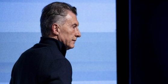Il presidente argentino Mauricio Macri