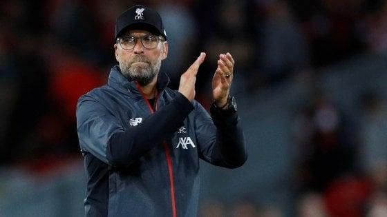 """Liverpool, Klopp vuole la Supercoppa: """"Continuare ad aver fame di vittorie"""""""