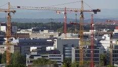 Frenata dei fallimenti in Italia, l'edilizia riprende forza