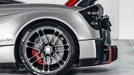 Pirelli, sviluppo da F1 per le gomme della Huayra Roadster BC