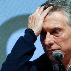 Argentina, Macri rilancia con un piano in favore di famiglie e imprese