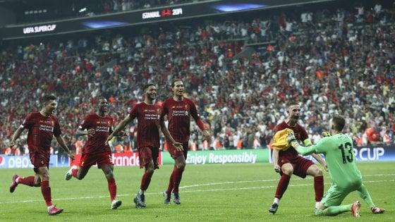 Supercoppa europea: fa festa il Liverpool, Chelsea ko 7-6 ai calci di rigore