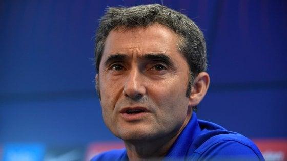 Barcellona, Valverde: ''Non è logico iniziare con mercato aperto''