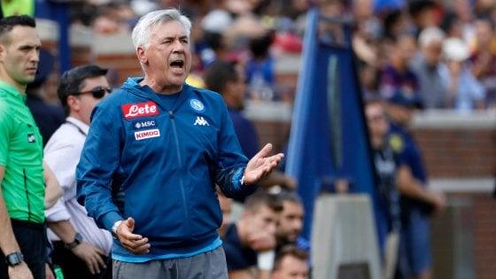 Napoli, gruppo al completo per Ancelotti: rientrati Koulibaly e Ounas